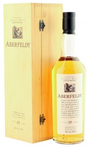 Aberfeldy 15 Year Old, Flora & Fauna Bottling with Wooden Box