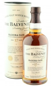 Balvenie 17 Year Old, Madeira Cask 2009 Bottling with Tube