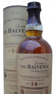 Balvenie 14 Year Old Caribbean Cask Single Malt Whisky