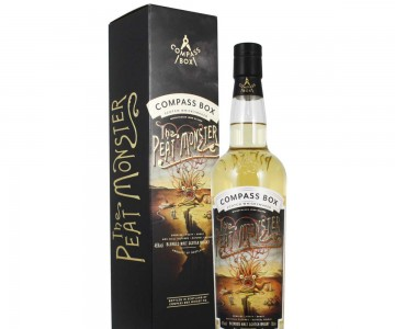 Compass Box, The Peat Monster (The Painting Label)